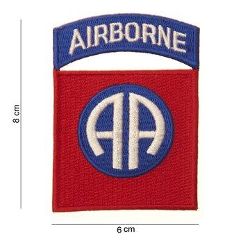 Airborne embleem patch van stof art. nr. 3018