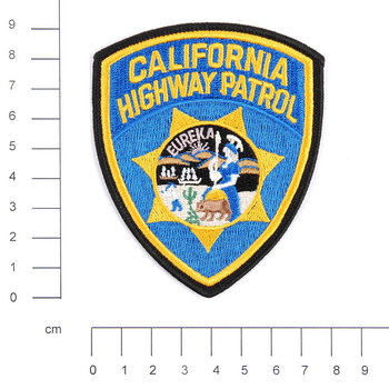 California Highway Patrol embleem patch van stof art. nr. 5001