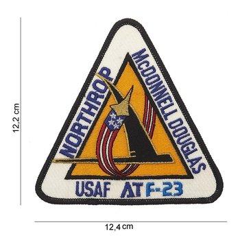 F-23 Northrop Mc Donnell Douglas embleem patch van stof art. nr. 5048