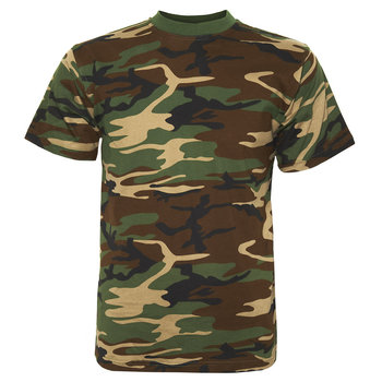 T-shirt leger camouflage woodland