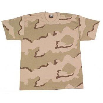 T-shirt leger desert camouflage