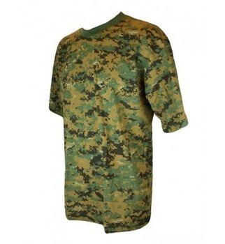 T-shirt leger digital camouflage