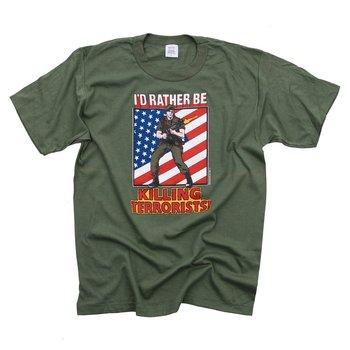 T-shirt leger killing terrorists