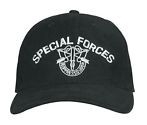 Leger pet special forces zwart