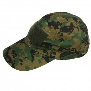 Tactical cap / leger pet met klittenband strook digital camouflage