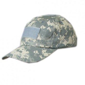 Tactical cap / legerpet met klittenband strook ACU camouflage