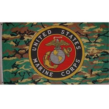 Us Marine Corps camouflage vlag