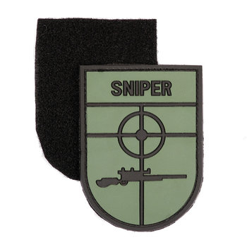 Patch Sniper pvc met klittenband art no 10056