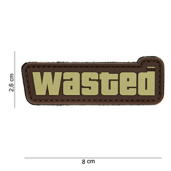 Patch wasted pvc met klittenband art no 14014