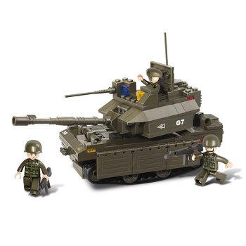 Tank Sluban leger speelgoed B0287
