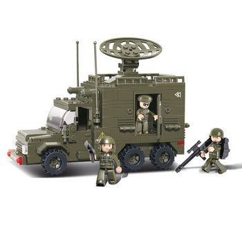 Radar Truck Sluban leger speelgoed B0300