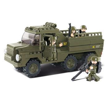 Truck Sluban leger speelgoed B0301
