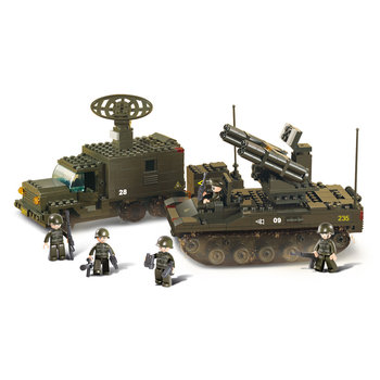 rocket launch system Sluban leger speelgoed B6700