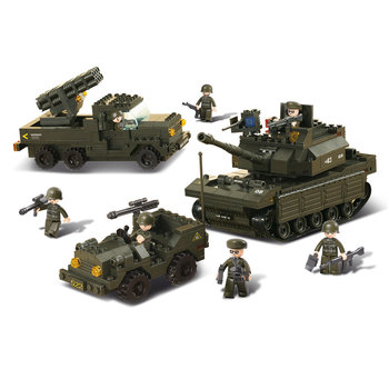 Army set Sluban leger speelgoed B6800
