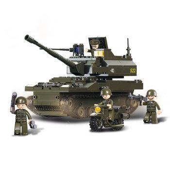Tank Sluban leger speelgoed B9800 style 2