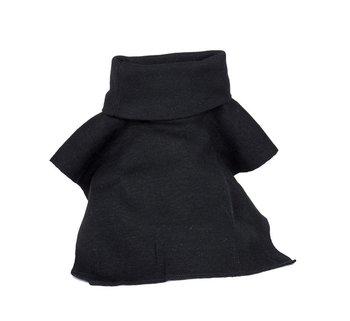 col sjaal polo neck zwart