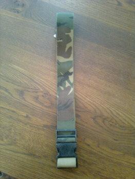 Koppel leger camouflage gebruikt