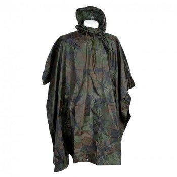 Poncho camouflage nieuw lichtgewicht