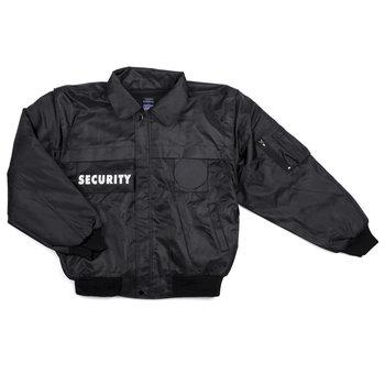 Security / beveiliging jas zwart
