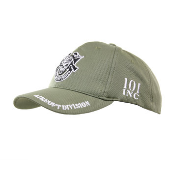 KINDER baseball cap pet leger groen 101 inc skull
