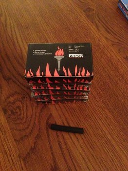houtskool staafjes voor handwarmer