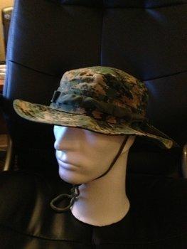 Bush hat leger hoed digitale camouflage maat L (59)