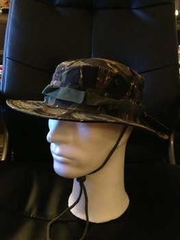 Bush hat leger hoed tiger stripe camouflage deluxe