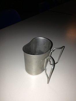 drink beker / cup voor veldfles ex defensie