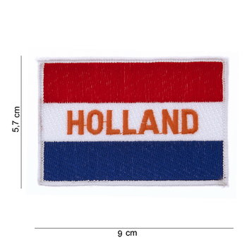 Holland embleem patch van stof art. nr. 1016