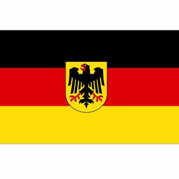 Duitse vlag met adelaar, vlag adelaar Duitsland