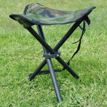 vis kruk / stoel drie poot camouflage