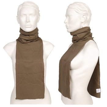 col sjaal leger nieuw groen/bruin