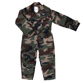 Overall Kids Camouflage / kinder overal leger