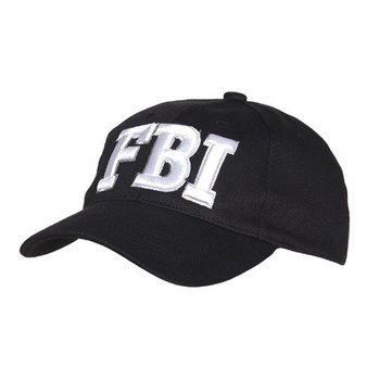 pet / baseball cap FBI