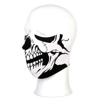 Masker doods hoofd skull half