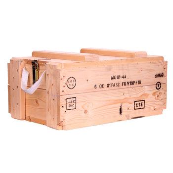 houten leger munitie kist 58 x 36 x 28 cm