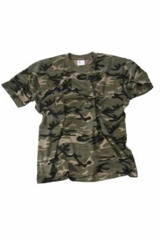Camouflage leger t-shirt street camo