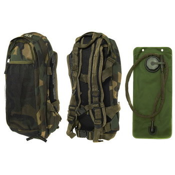 Camel bag, water rugzak camouflage