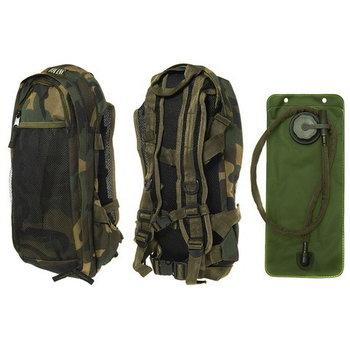 Camel bag, water rugzak camouflage
