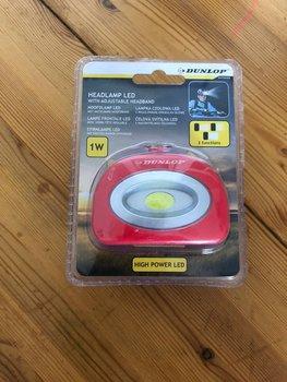 Headlight / hoofdlamp Led Rood