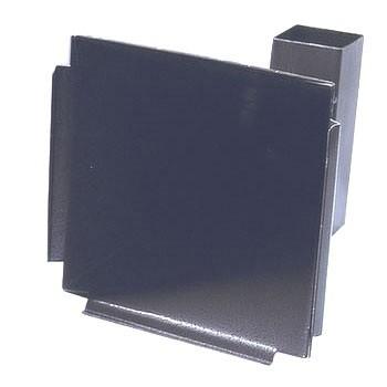 Schietkaarthouder van metaal voor kaarten van 14 cm