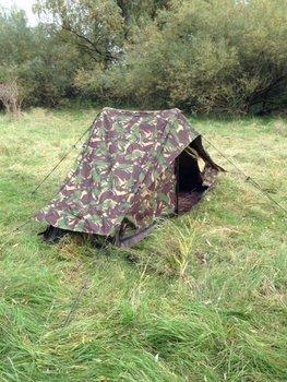 legertent camouflage Nederlands 1 persoons gebruikt