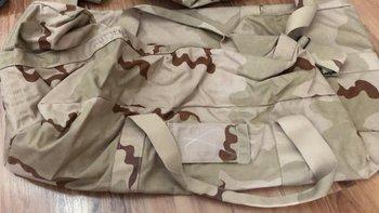 Weekendtas 2e keus leger gebruikt in desert camouflage
