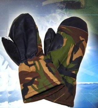Wanten / Handschoenen leger CAMOUFLAGE nieuw maat XL (9) of XXL (10)