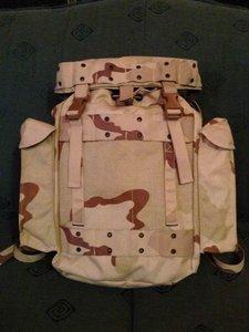 Commando rugzak leger camouflage DESERT 40 liter