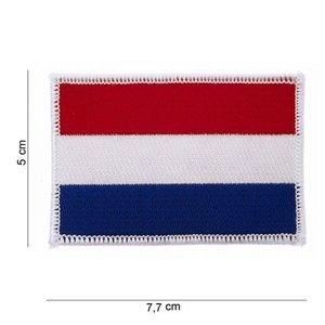 Spiksplinternieuw http://www.campveltoutdoorshop.nl/patch-embleem-Nederlandse-vlag QN-81