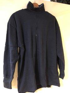 Col trui blauw, thermo kleding marine, nieuw uit het leger
