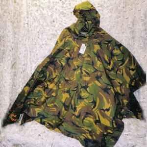 Poncho camouflage leger defensie gebruikt