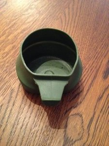 Drink cup - beker opvouwbaar - foldable gebruikt door defensie