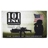 vlag leger 101 inc airsoft
